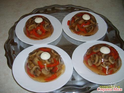 Заливное из мяса с желатином рецепт пошагово 45