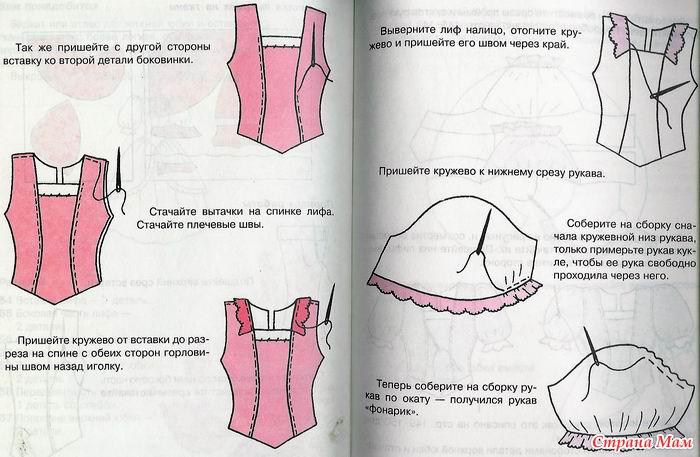 Как сшить спортивное платье своими руками