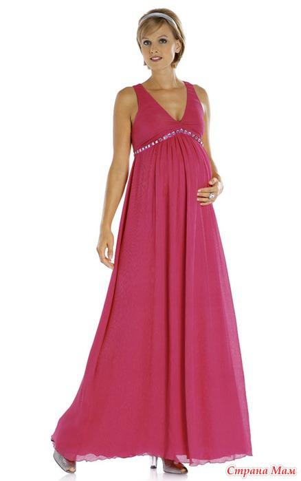 Вечернее платья для беременных каталог