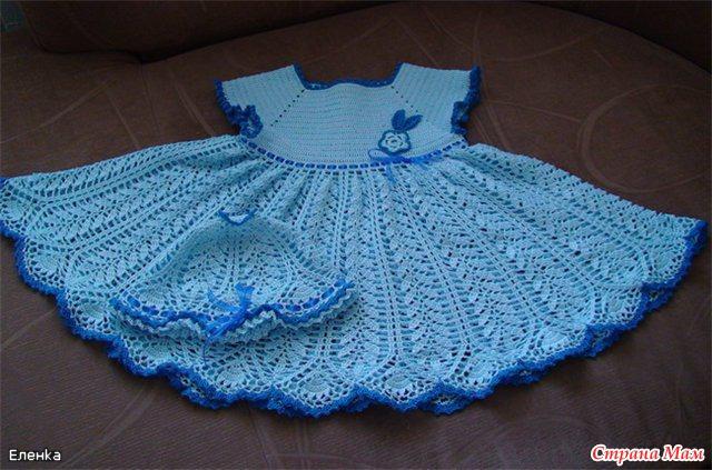 Клубок ру вязание крючком детские платья