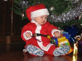 Дед мороз принесла подарки