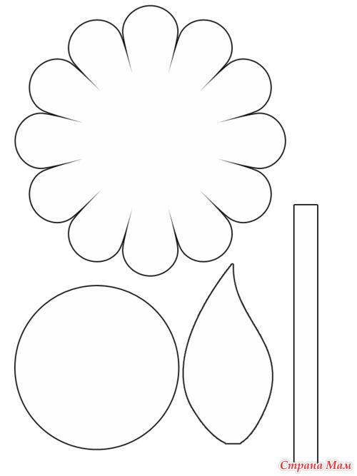 Аппликация из цветной бумаги своими руками цветы