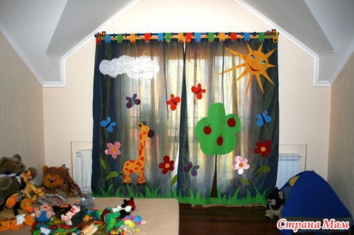 Шторы в детскую детская комната