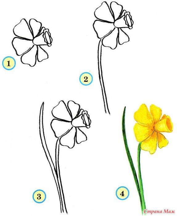 Тэги: рисование, цветы