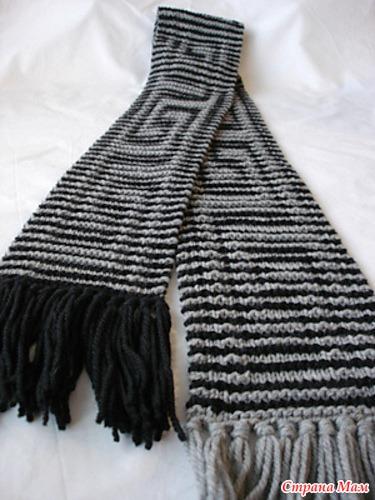 не нужны вязаные шарфы,