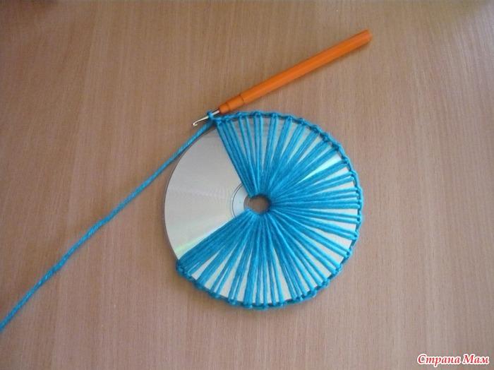 Мастер класс изделия из дисков