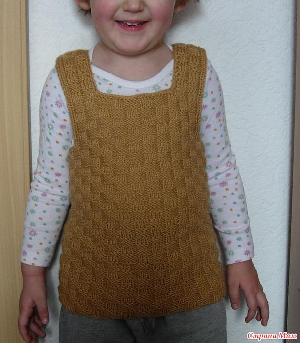 Страна мам вязание спицами жилетки с описанием