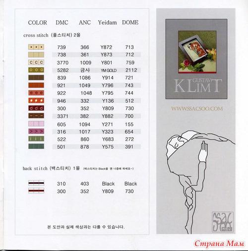 коллекция схем для вышивки