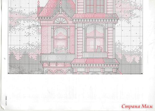 Викторианский шарм вышивка схема 75
