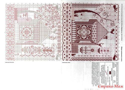 Схема вышивки оберег домашнего