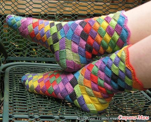 Образцы ажурного вязания на спицах
