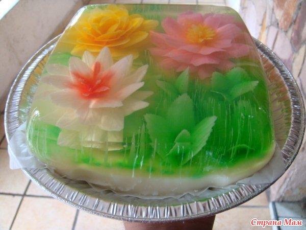 Рецепты желейных тортов с фотографиями