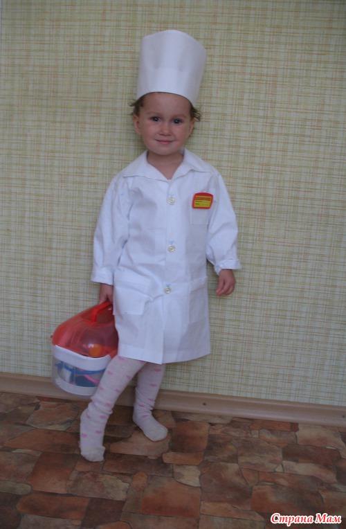 Костюм медсестры для девочки своими руками в детский сад 52