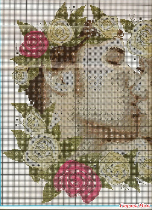 Реклама по вышивки крестом для проекта