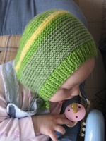шапочка-чепчик для малышей