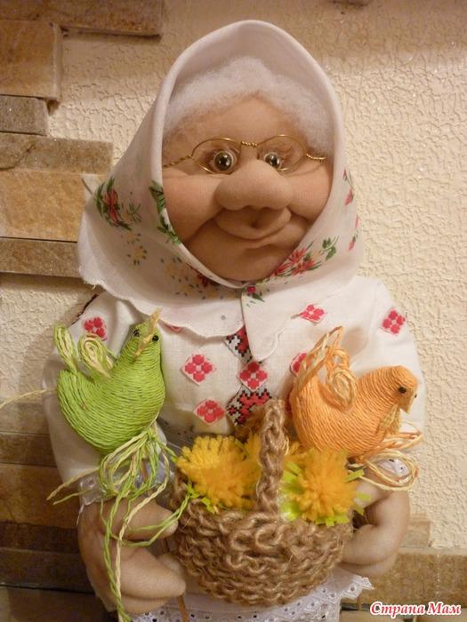 Сделать куклу с капрона