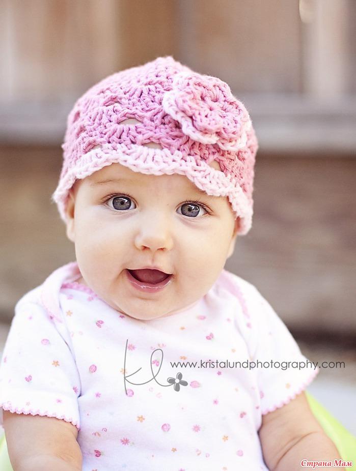 Рубрики: вязание детям · шапки