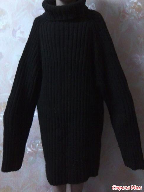 Вязанные свитера из толстой пряжи