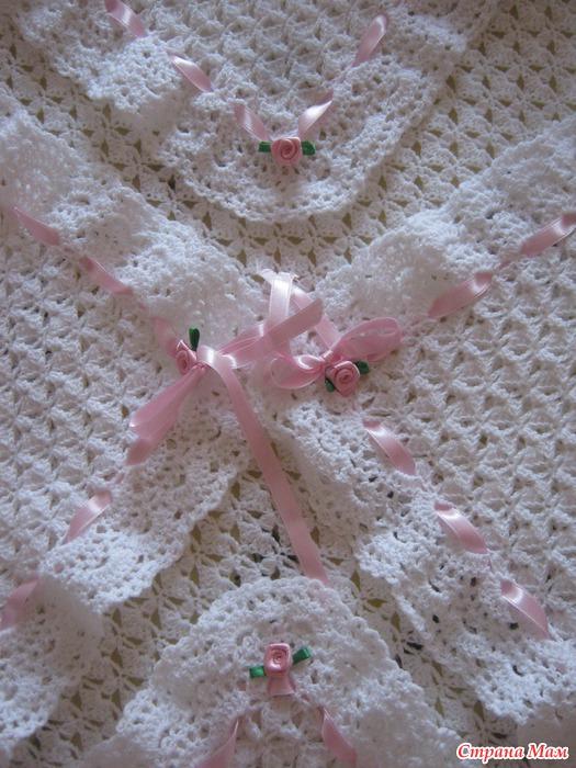 Вязание спицами для детей ажурный