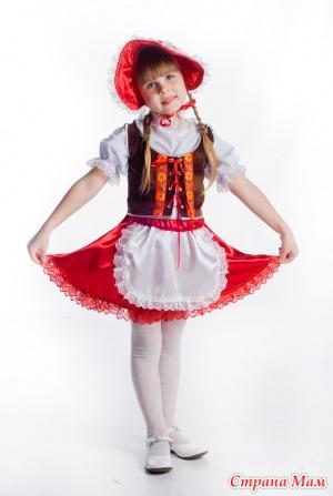 Костюм на новый год красная шапочка своими