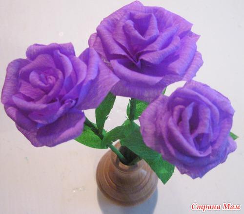 Как сделать цветы из бумаги — 27 апреля