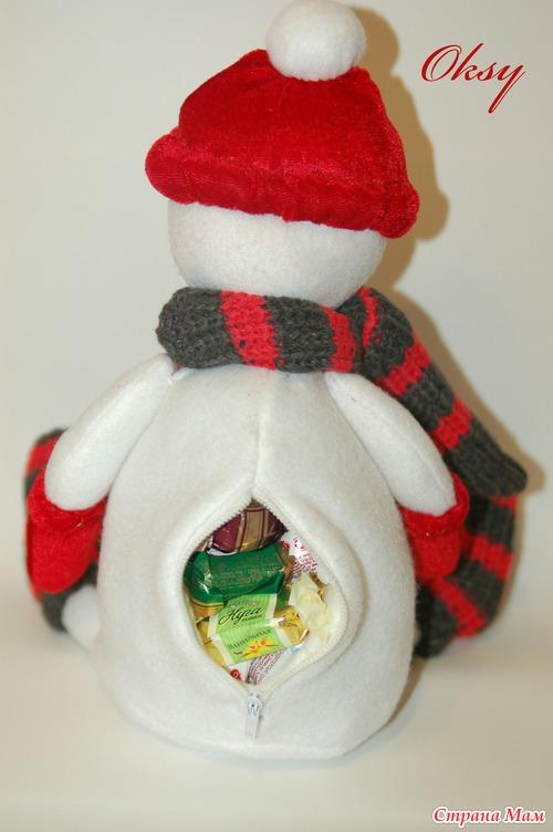 Как сшить снеговика и выкройка для него фото 805