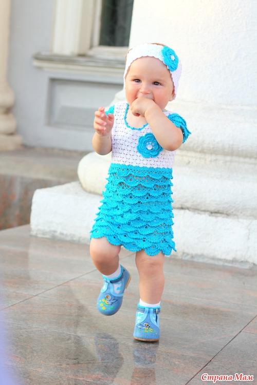 Платья на месяц ребенку фото