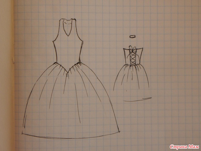 Как своими руками сшить платье для принцессы