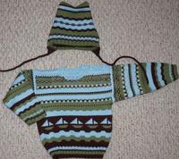 Схема к свитеру