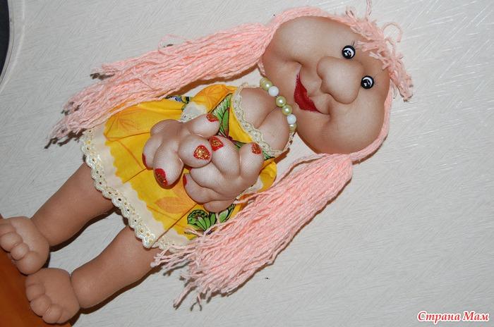 Куклы с капрона своими руками 96