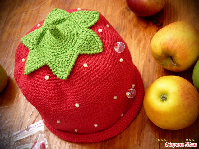 Как сшить ягодку шапочку 51