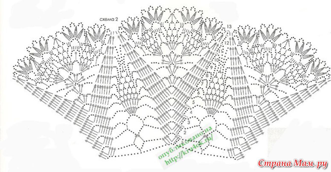 схемы вязания крючком детских