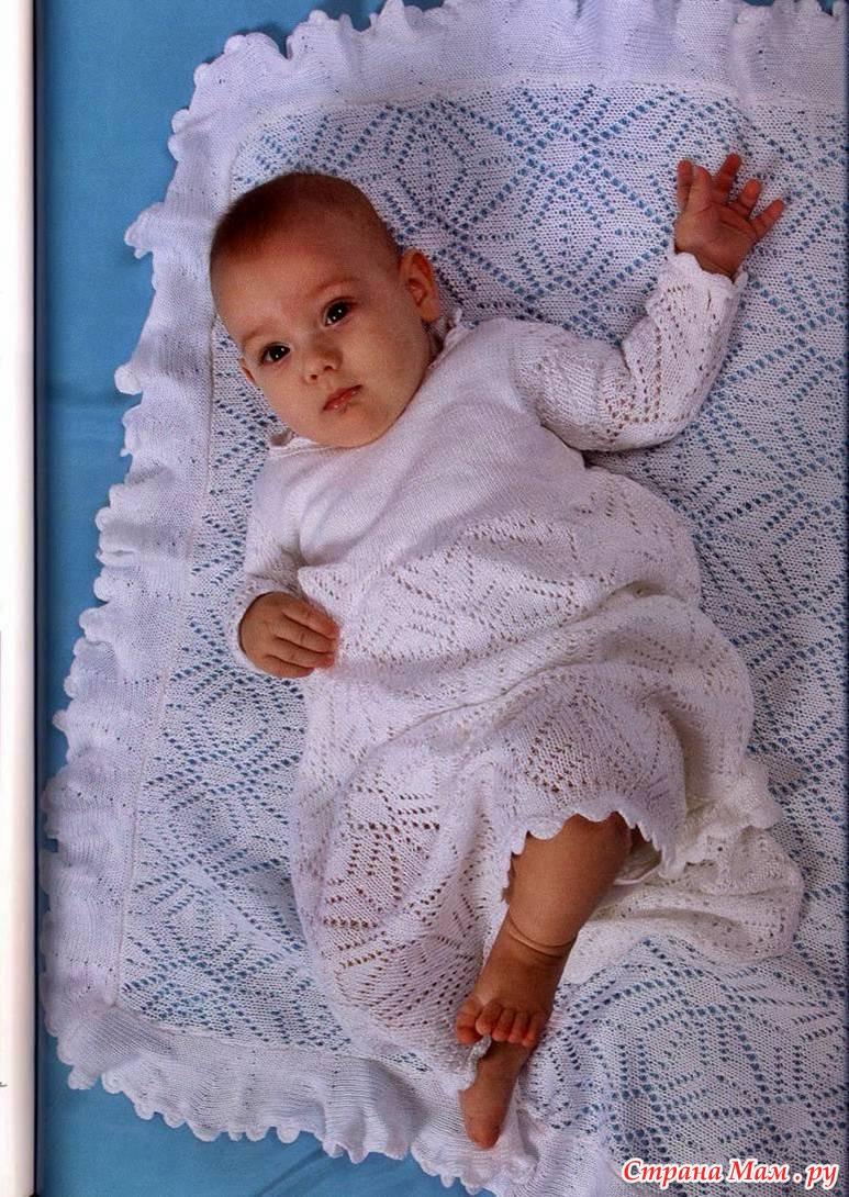 Вязание для новорожденных девочек 0-4 168