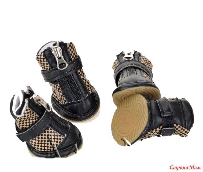 сшить сам обувь для собаки