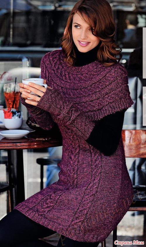 схемы вязания кофт спицами - обложка.