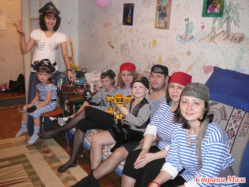 Сценарий проведения дня рождения с пиратами