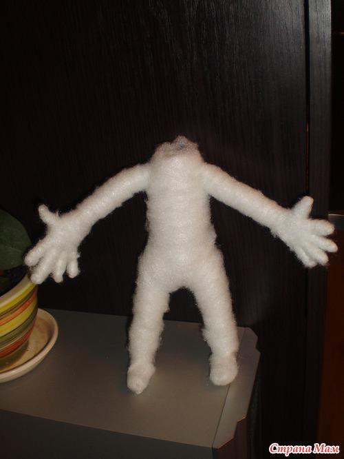 Кукла повар из капрона МК