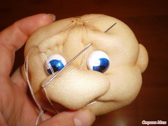 Мастер класс как сделать глаза кукле своими руками 57