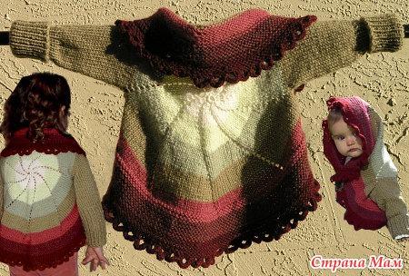 У этого свитера есть несколько важных особенностей: он вяжется по-кругу без единого шва.  Его может носить и...