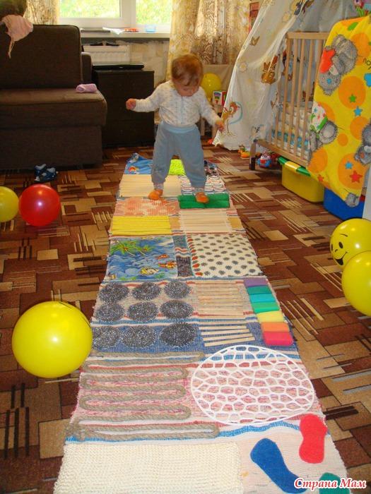 Коврик ребенку в детский сад своими руками 122