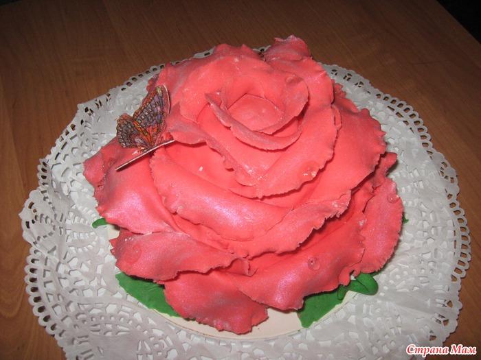 торт из мастики пошаговое фото