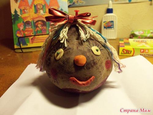 Поделки из картошки своими руками для школы: инструкции с