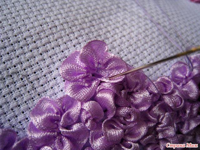 Вышивка лентами - Страница 5 - Рукоделие - Мамочки Симферополя