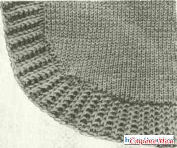 готовки как связать круглый низ у свитера спицами вид акустического