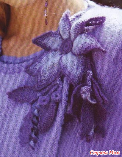Мода вязание схемы