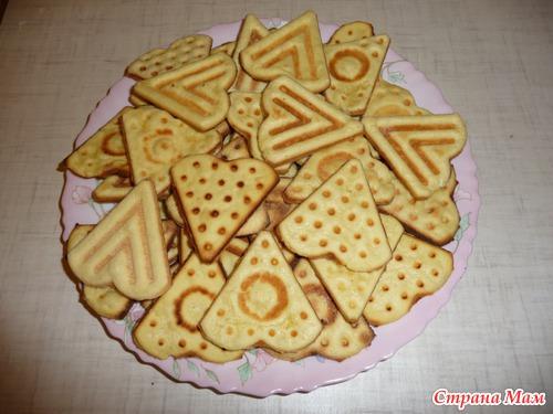 печенья рецепты с фото в форме