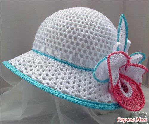 Шляпка ОРХИДЕЯ