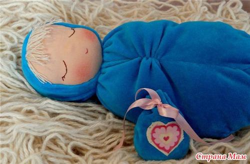 Мастер-класс по изготовлению куколки Сплюша