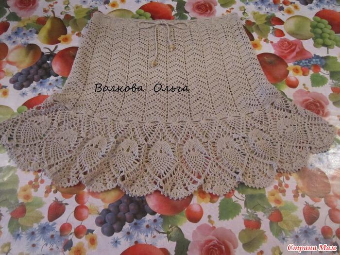 钩针:不一样的裙摆 - maomao的日志 - 网易博客 - 荷塘秀色 - 茶之韵