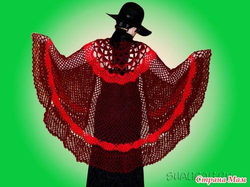 Вот какие восхитительные шали вяжет мастерица Галя.  БРАВО!